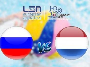 Водное поло Чемпионат Европы Женщины 1/2 финала Россия — Нидерланды Трансляция из Венгрии в 02:15 на канале