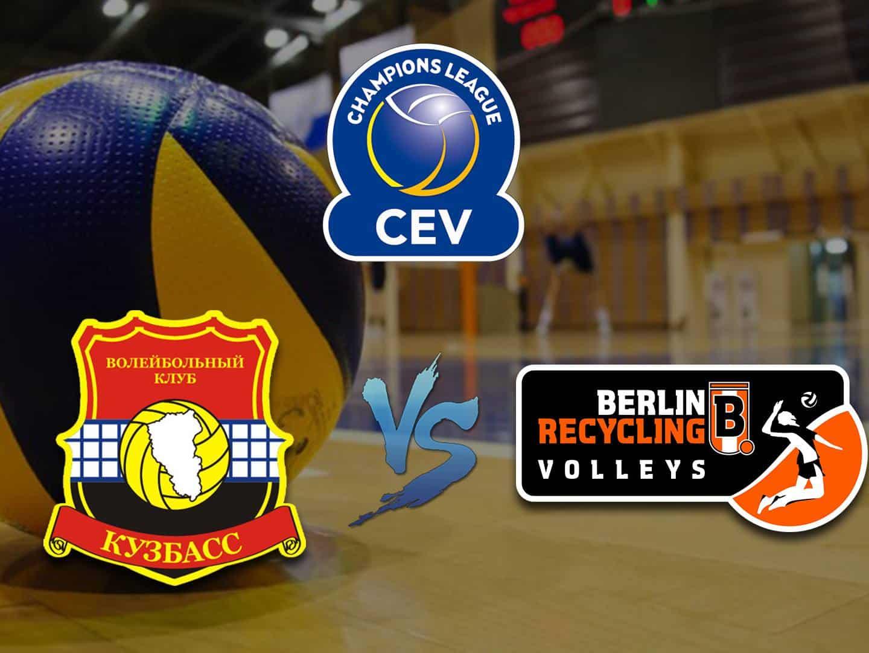 Волейбол Лига чемпионов Мужчины Кузбасс Россия Берлин Германия в 13:20 на канале