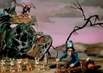 программа Советские мультфильмы: Волшебник Изумрудного города Изумрудный город