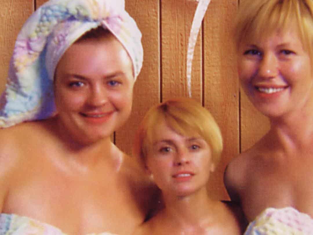 программа НТВ: Воскресенье в женской бане Ещё раз про любовь