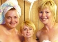 программа НТВ: Воскресенье в женской бане Любовь нечаянно нагрянет