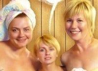 программа НТВ: Воскресенье в женской бане Визит дамы