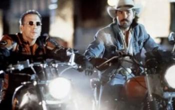 Харлей Дэвидсон и ковбой Мальборо в 10:40 на Sony Turbo