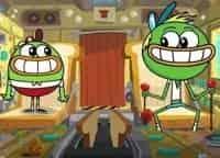 программа Nickelodeon: Хлебоутки Няньки: Воспитание Трех Булочек/Крошкоголовые