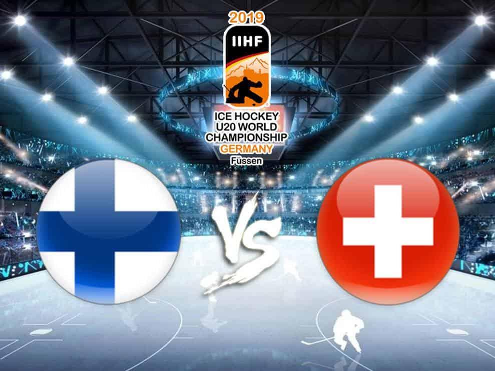 программа Матч ТВ: Хоккей Чемпионат мира среди молодёжных команд Финляндия — Швейцария Трансляция из Чехии