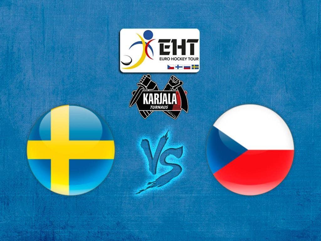 Хоккей Евротур Кубок Карьяла Швеция Чехия Трансляция из Швеции в 13:30 на канале