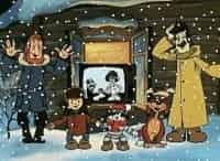 Зима в Простоквашино в 12:40 на канале