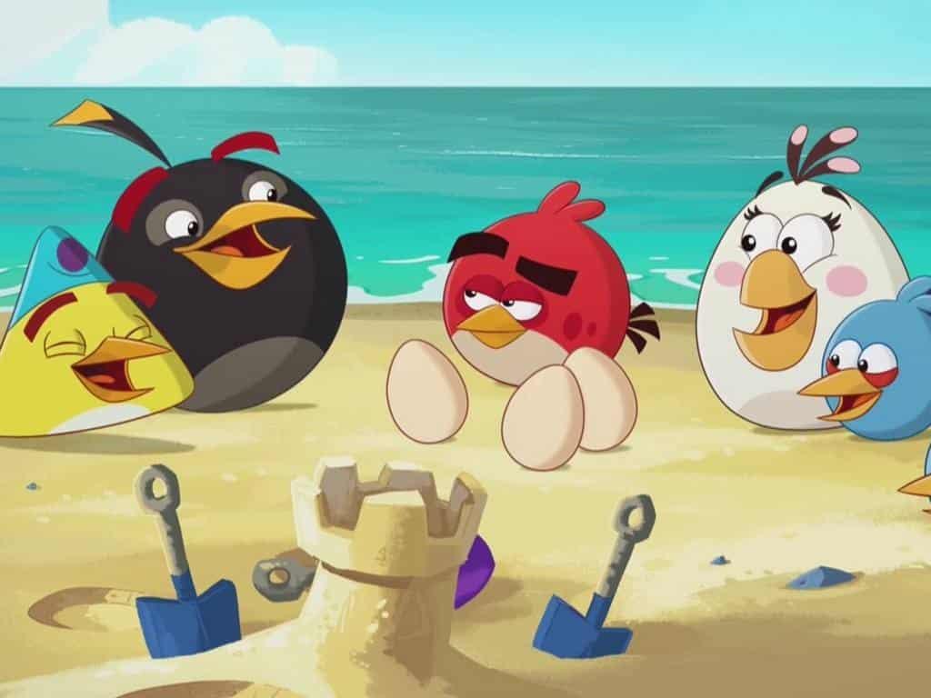 программа Карусель: Злые птички Звуки из яйца