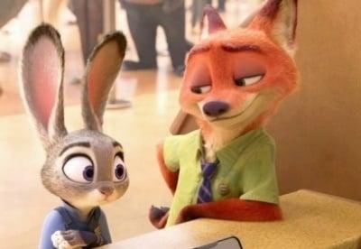 кадр из фильма Зверополис
