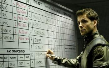 программа Sony Sci-Fi: Звездный крейсер Галактика Последнее сияние Кобола: Часть 2