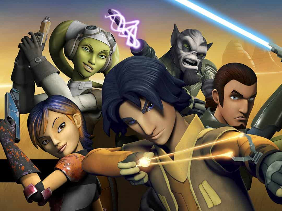 программа Дисней: Звёздные Войны: Повстанцы Искра мятежа Часть 1