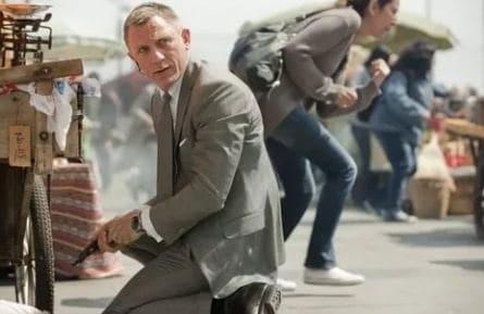 007: Координаты Скайфолл кадры