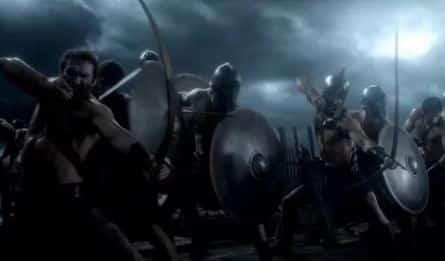 300 спартанцев: Расцвет империи в 16:30 на канале