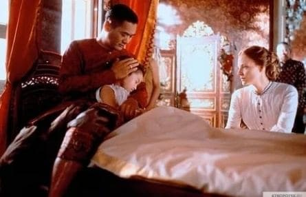 Анна и король кадры
