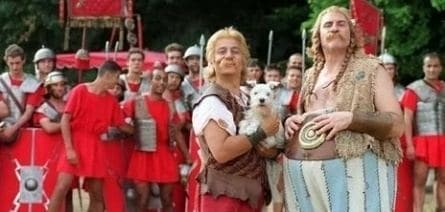 Астерикс и Обеликс против Цезаря кадры