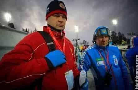 Биатлон с Дмитрием Губерниевым кадры