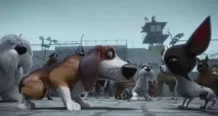 Большой собачий побег кадры