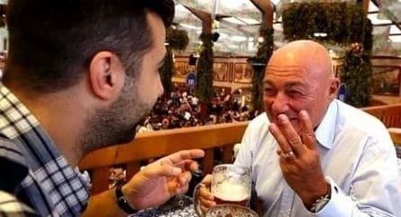 Германская головоломка. Владимир Познер и Иван Ургант кадры