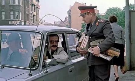 Инспектор ГАИ кадры