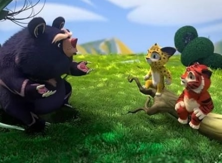 Лео и Тиг Таинственная гостья кадры