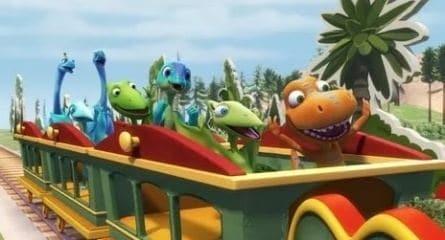 Поезд динозавров кадры