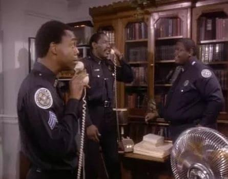 Полицейская академия кадры