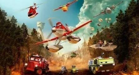 Самолёты: Огонь и вода в 19:30 на канале