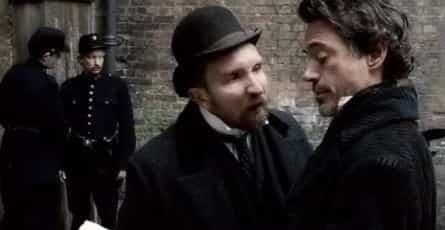 Шерлок Холмс 3 кадры