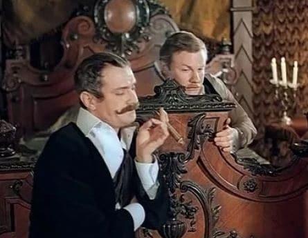 Шерлок Холмс. Собака Баскервилей кадры
