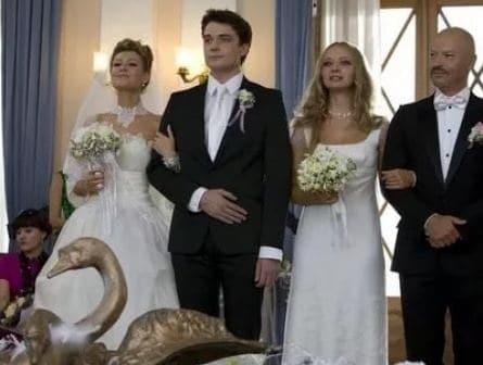 Свадьба по обмену кадры