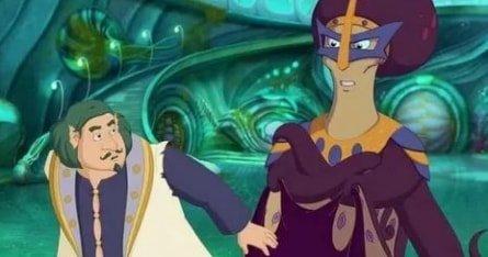Три богатыря и Морской царь кадры
