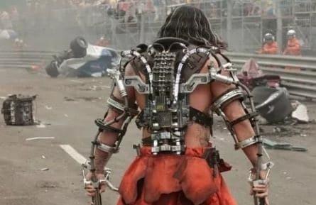 Железный человек-2 кадры