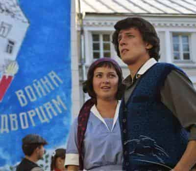 кадр из фильма Шагал-Малевич