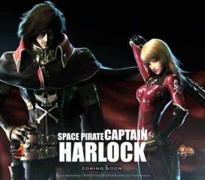 кадр из фильма Космический пират Харлок