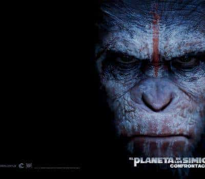кадр из фильма Планета обезьян: Революция