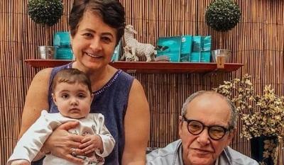 80 летний Эммануил Виторган показал милое видео разговаривающей 9 месячной дочки: Будь счастлива, солнышко