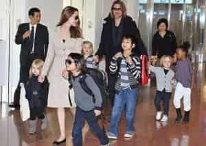 Бред Питт не старался отстаивать право опекунства над детьми