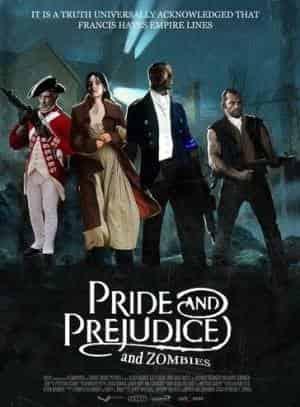 кадр из фильма Гордость и предубеждение зомби