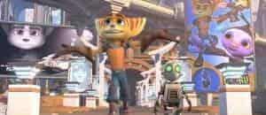 кадр из фильма Рэтчет и Кланк: Галактические рейнджеры