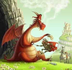 Где дракон?