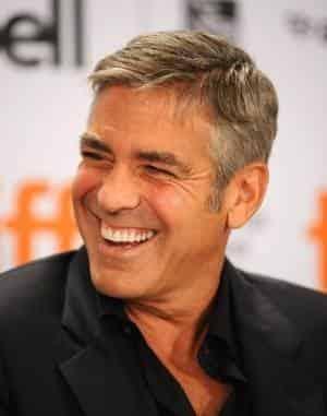 Джордж Клуни смеется один раз за день, а плачет четырежды