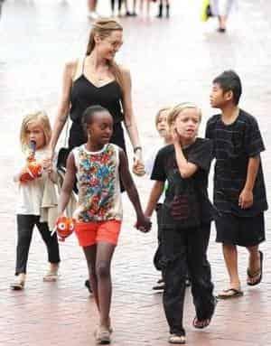 Семья Анджелины Джоли готова принять нового молодого человека