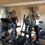 Валерия приобщила мужа к фитнесу