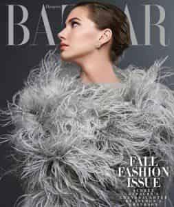 Внучка Одри Хепберн появилась на обложке Harper`s Bazaar