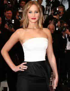 Дженнифер Лоуренс стала звездой кинофестиваля в Лондоне