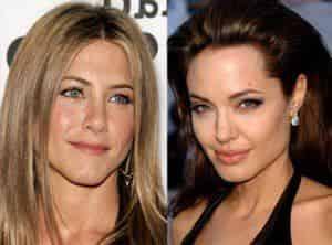 Дженнифер Энистон прекратила вражду с Анджелиной Джоли