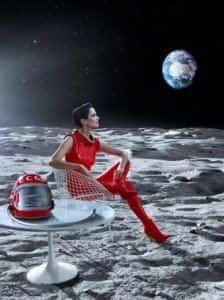 Ева Грин перевоплотилась в советского космонавта