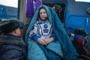 Космонавт Елена Серова похожа на мадонн Ренессанса