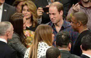 Кейт Миддлтон и принц Уильям познакомились с Бейонсе и Джей-Зи