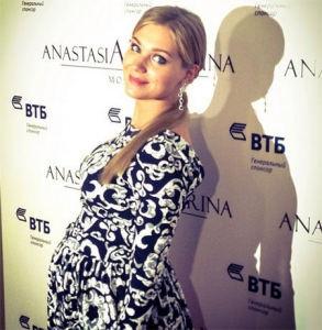 Беременная Кристина Асмус увлеклась модой